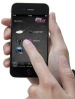"""Mit #KW geht's """"App"""": #iPhone gesteuertes #Gewindefahrwerk für #Mercedes-Benz #C63 #AMG"""