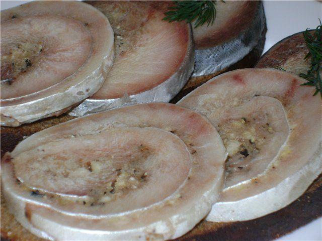 «Рулет из скумбрии по- домашнему» : Закуски и бутерброды