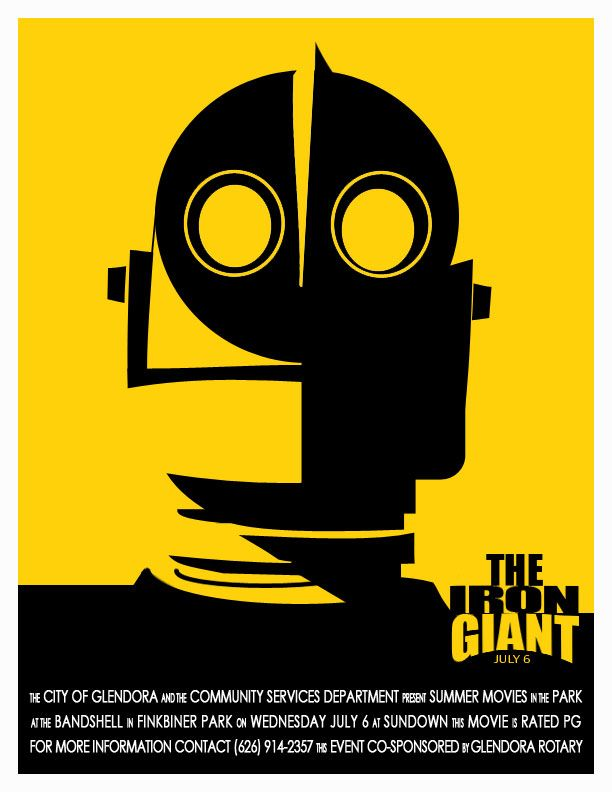 2016 Summer Movie in the Park | The Iron Giant