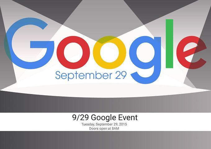 Google 29 Eylül'de Nexus Etkinliği Düzenleyecek