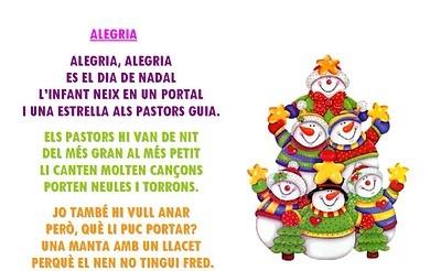 Poema alegria nadal jocs poemes can 199 ons v 205 deos pinterest