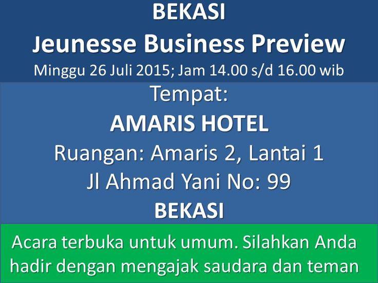 Hadiri Preview Peluang Bisnis di Kota Anda Pengantar install aplikasi free di Android http://bit.ly/HIdupMantap dengan username vituspolikarpus