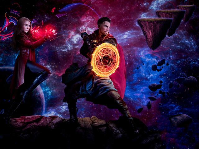 Collection Of Scarlet Witch Hd 4k Wallpapers Background Photo And Images Doctor Strange Marvel Witch Wallpaper Strange