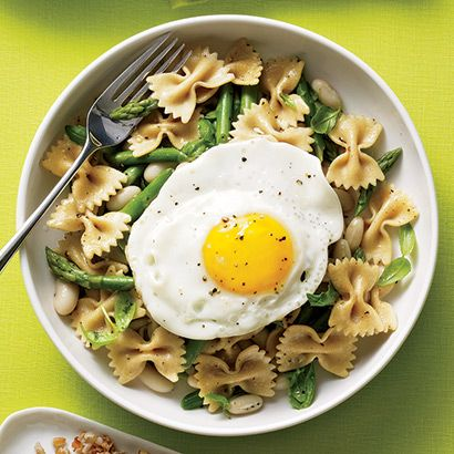 Healthy pasta with asparagus recipes