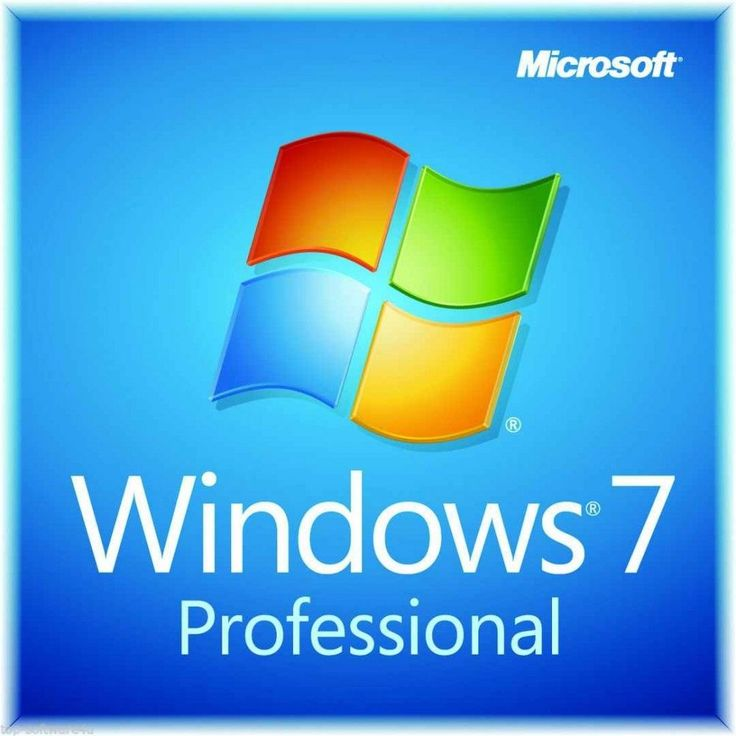 Windows 7 - Professional OEM - Lizenz Key 32/64 Bit Version
