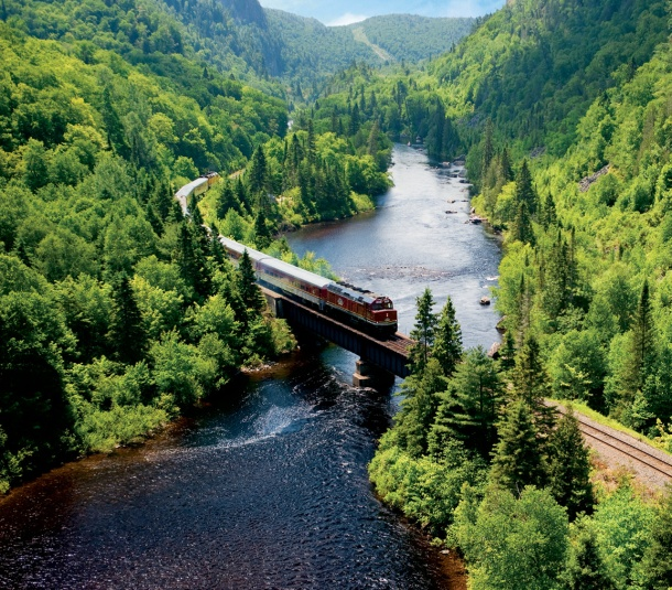 Agawa Canyon Ontario Canada Would love to take this trip someday.