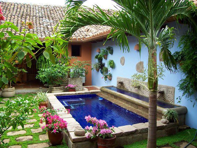 The 25 best imagenes de albercas ideas on pinterest - Jardines para casas pequenas ...