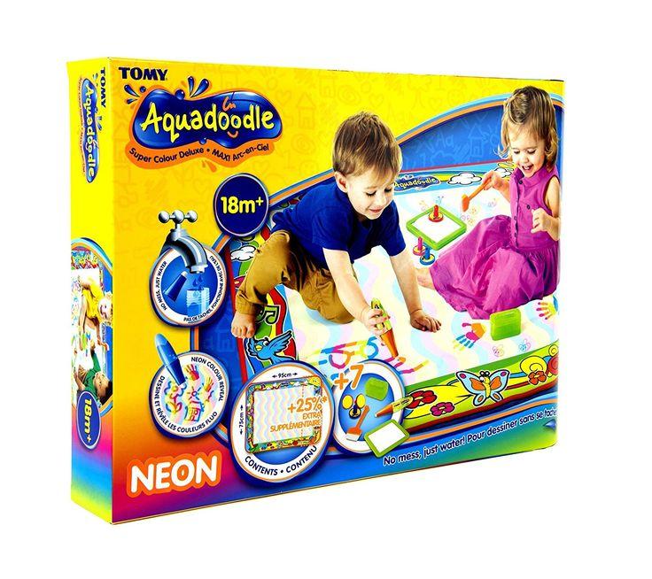 TOMY Aquadoodle - T72373 - Maxi Tapis Aquadoodle Arc en Ciel - Loisir Créatif