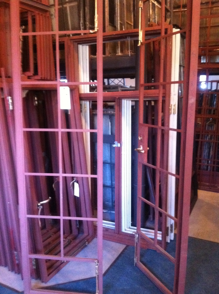 Steel Casement Doors : Steel casement french doors that will lead out to terrace