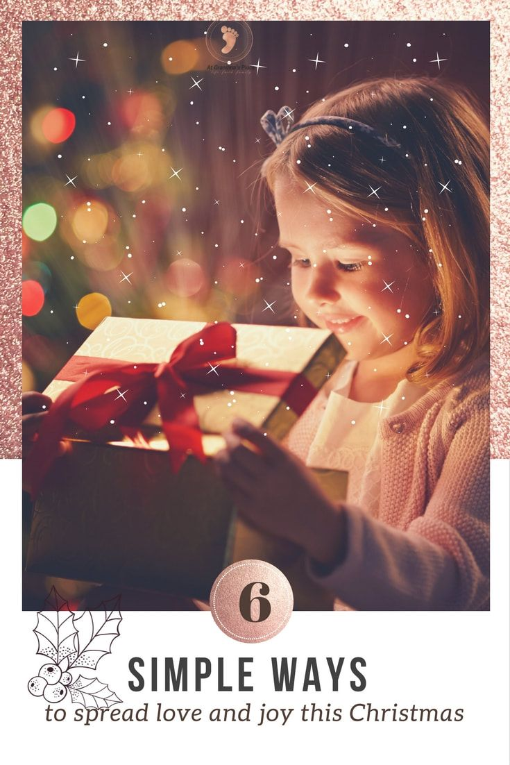 6 simple ways to spread love and joy within the community this Christmas... Find out how atgrandmasplace.com
