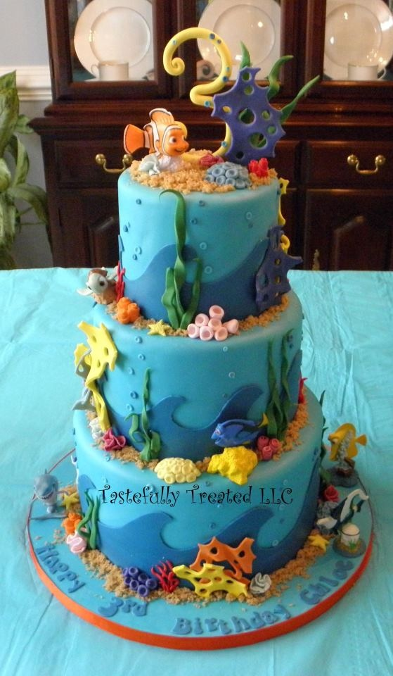 30 best finding nemo birthday ideas images on Pinterest Finding