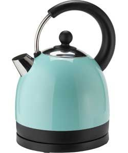 colourmatch stainless steel jug kettle jellybean blue. Black Bedroom Furniture Sets. Home Design Ideas