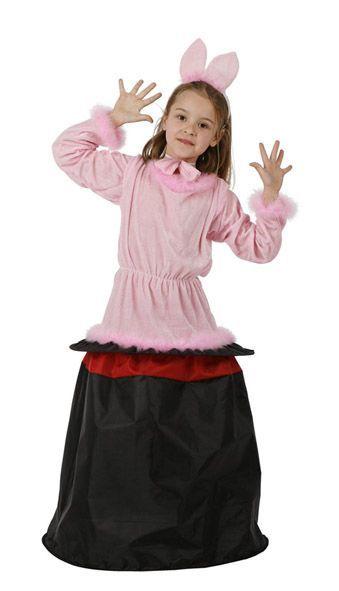 Disfraz de conejo saliendo del sombrero para niña : Vegaoo, compra de Disfraces niños