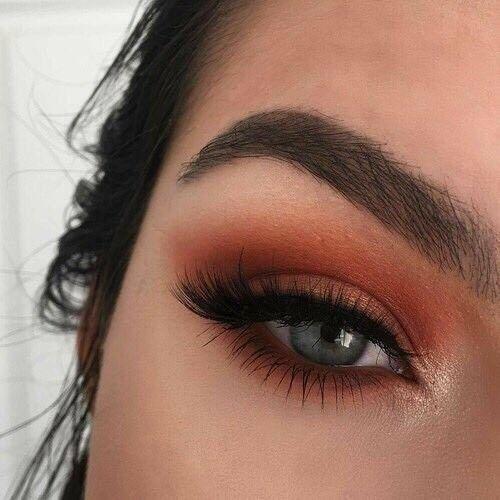Brown Eye Make up Look