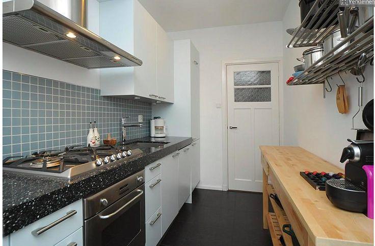 Tegeltjes op de muur in de keuken leuk formaat keuken pinterest - Keuken muur kleur idee ...