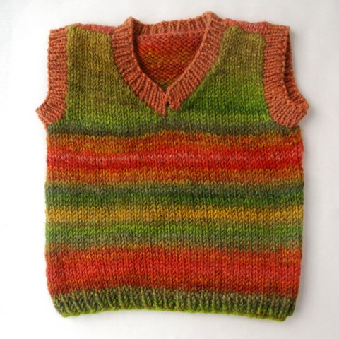 17 best images about knit: kids vests, gilets, short ...