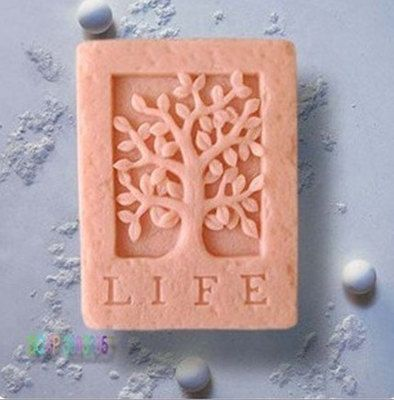 Life Tree Soap Mold Mould Silicone Flexible Mold Silica Mold | WholePort.com