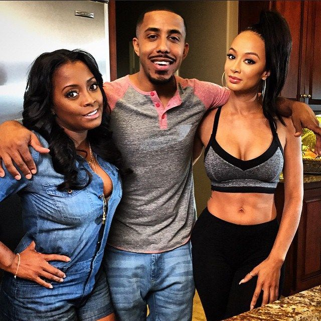 "Draya Michele To Star In First Movie ""Will To Love"" With Marques Houston & Keshia Knight Pulliam"