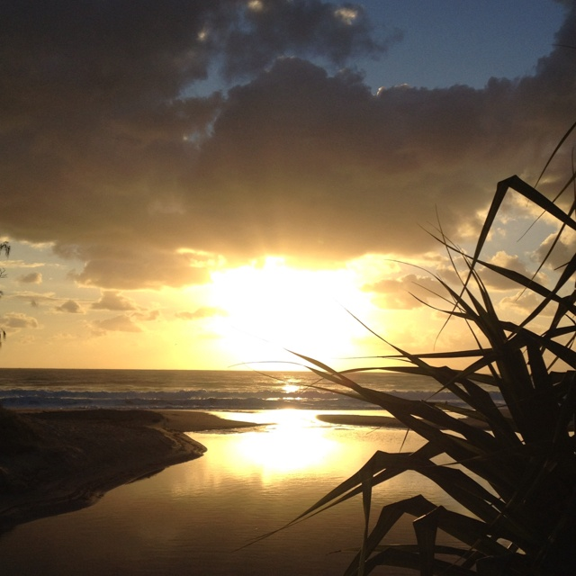 Dicky's Beach Qld Australia Sunrise