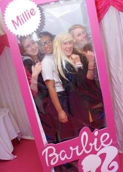 Barbie Box for Adults and sweet 16 Parties  We made this for MTV sweet 16 and have used it for loads of events up and down the country