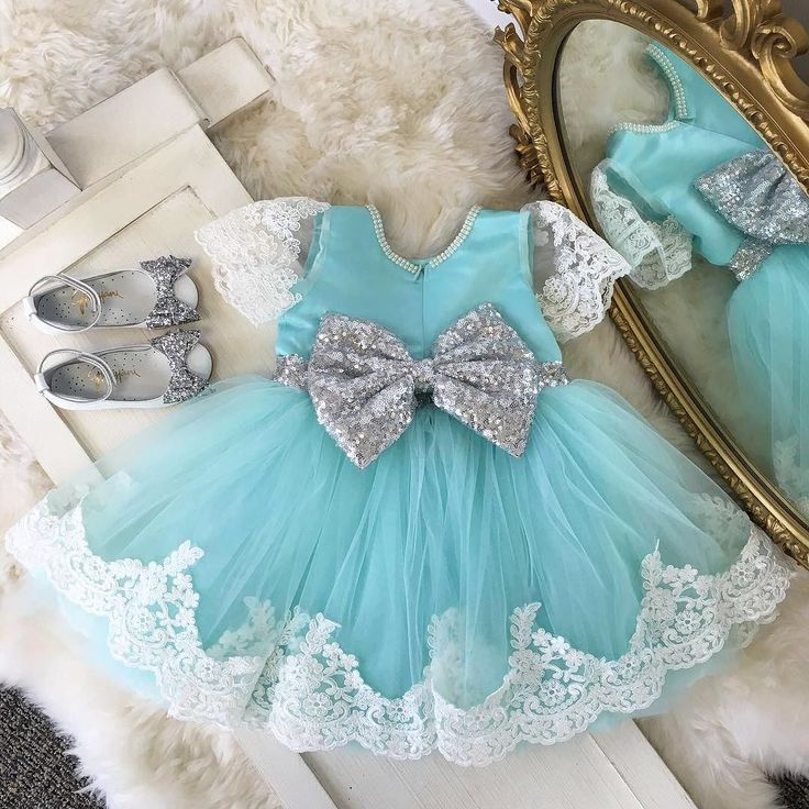 Princess Julia Dress in Mint & Silver And our Alba 73 shoes  Shop: http://ift.tt/2aWdOWY