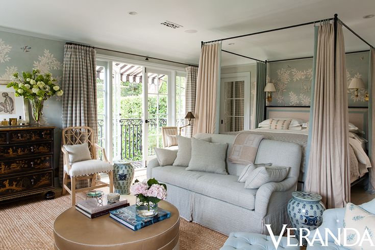 windows/door with balcony...Hollywood Hills No. 2 | Mark D. Sikes: Interiors