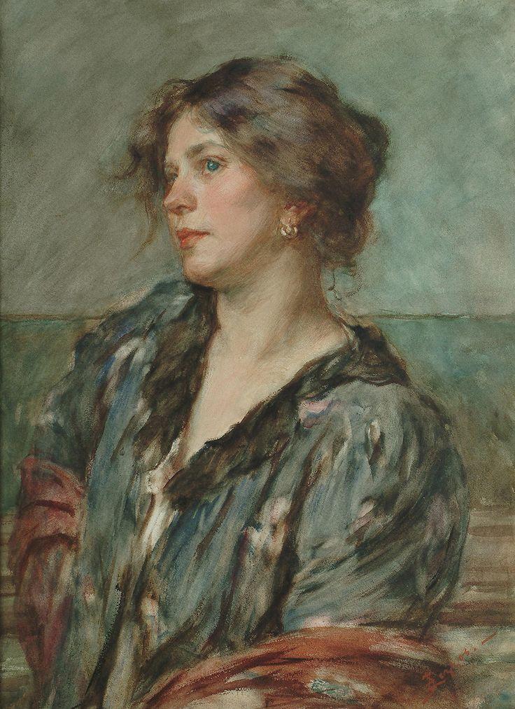 Alessandro Zezzos | A Venetian lady. Italian, 1848-1913 | hauk sven | Flickr