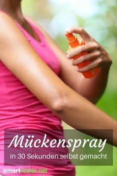 Selbstgemachter Mücken-Repellent - einfach, preiswert, wirksam!