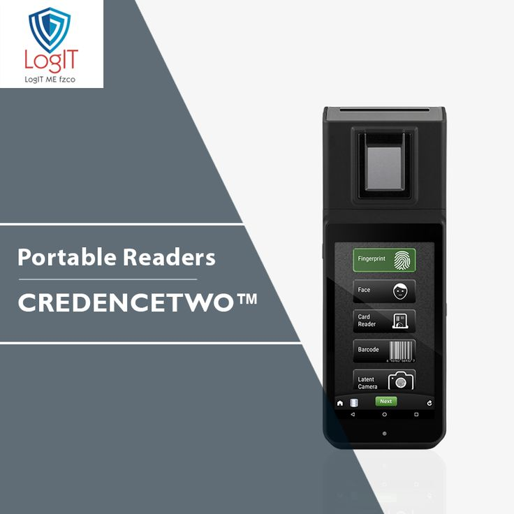 CREDENCETWO Main Features 1.0 GHz i.MX6 dual-core 5-Inch TFT LED display Secure Android™ 7.1.1 OS Security Enhanced (SE) Linux Policy Enabled Over-the-Air Updates (OTA) 5 MP dual illumination, autoflash, autofocus camera #LogitMeFzco #CREDENCETWO #PortableReaders
