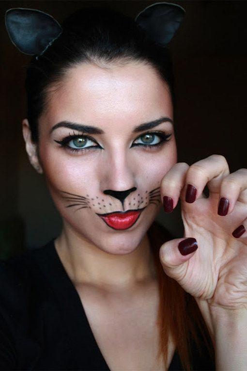Miau! Die Katze ist ein Karnevals-Klassiker.Bild: © Pinterest / punkyprincess