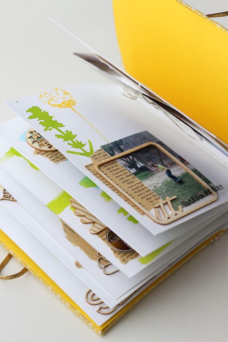 scrapbook minialbum by Fraupester