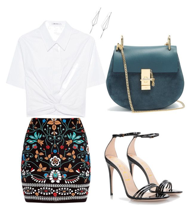"""Night Out"" by breannpalmer on Polyvore featuring T By Alexander Wang, Marni, Gucci, Diane Kordas and Chloé"