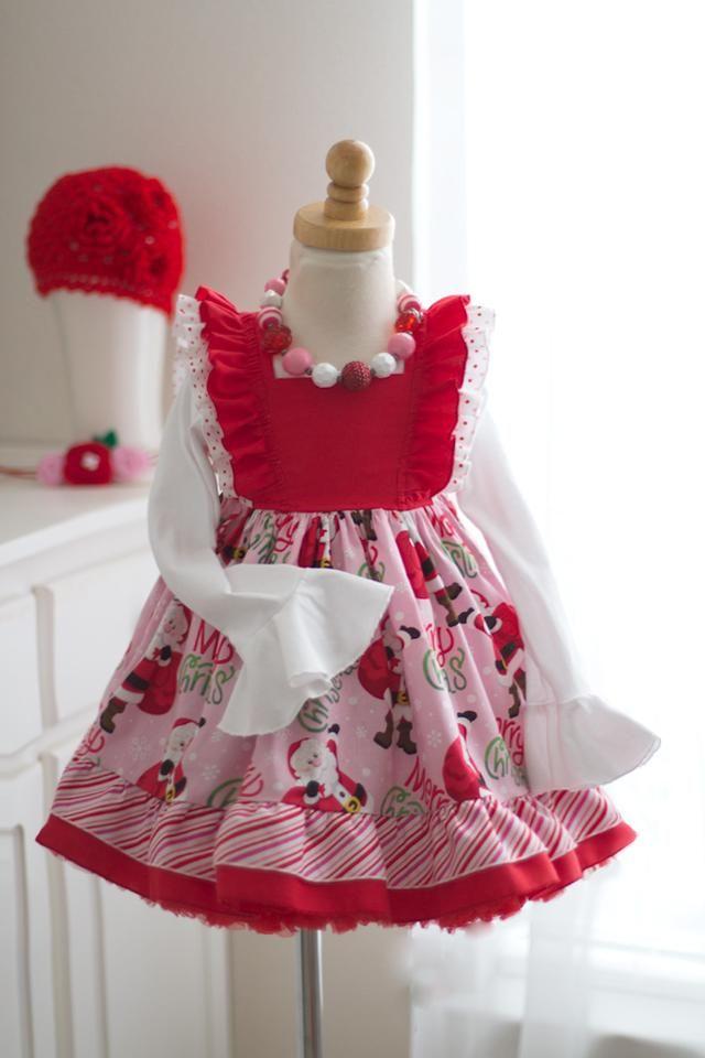 Sugarplum Santa Dress