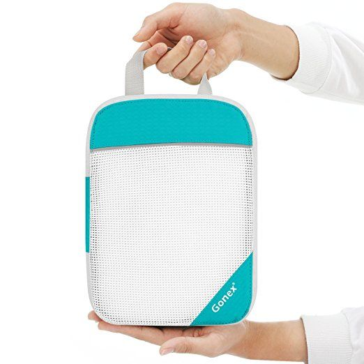 Amazon Com Gonex Compression Packing Cubes Mesh Organizers L M S