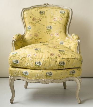 Bergere chair; nothing says 'fraanch' like a Bergere!