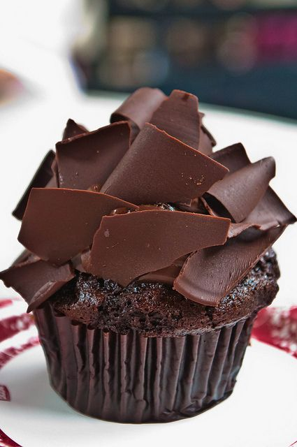 All that chocolate cupcake