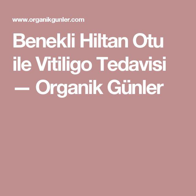 Benekli Hiltan Otu ile Vitiligo Tedavisi — Organik Günler
