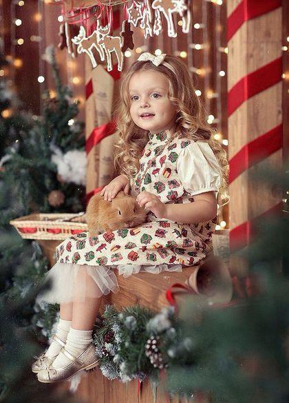Платье нарядное , детское, Новый год , Рождество , подарок, ретро