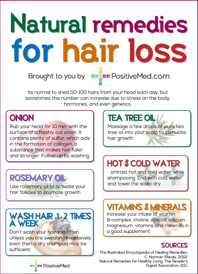 Natural Ways To Stop Thinning Hair