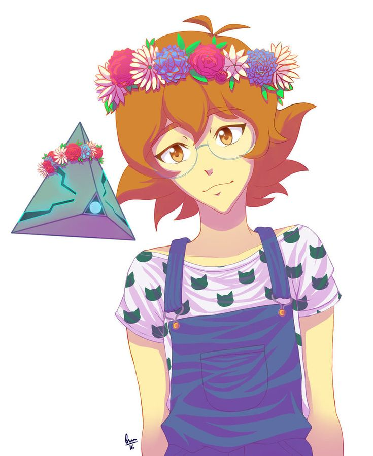 Flower Crowns- Pidge and Rover from Voltron Legendary Defender