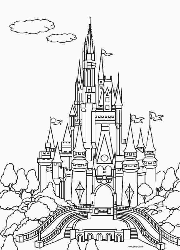 Magic Kingdom Castle Coloring Page Castle Coloring Page Disney Coloring Pages Princess Coloring Pages
