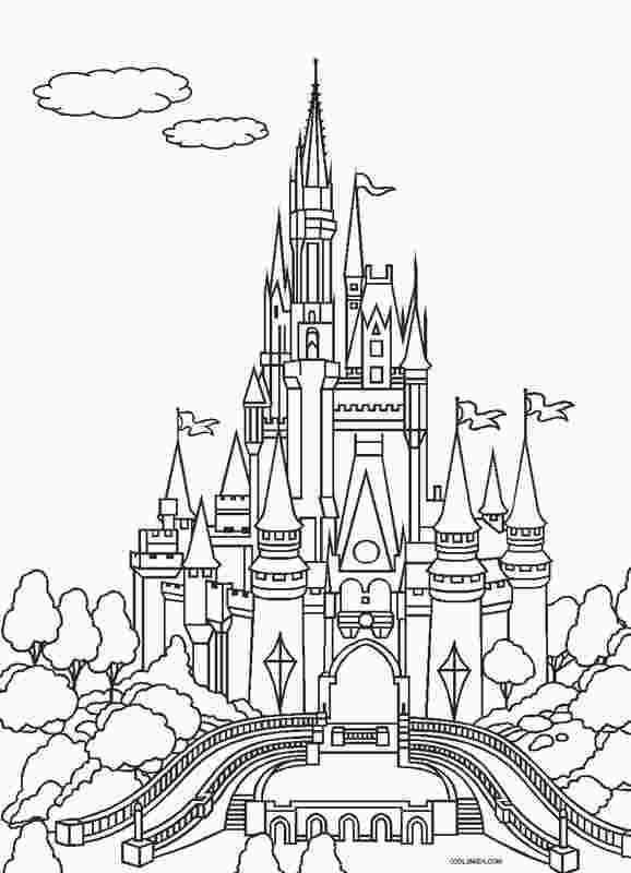 Magic Kingdom Castle Coloring Page Castle Coloring Page Disney