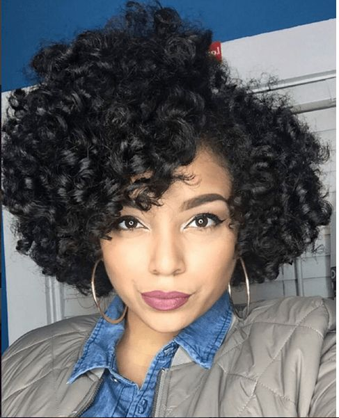 Curly Hairstyles Black Hair Prepossessing 496 Best Curly Hairstyles For Black Women Images On Pinterest