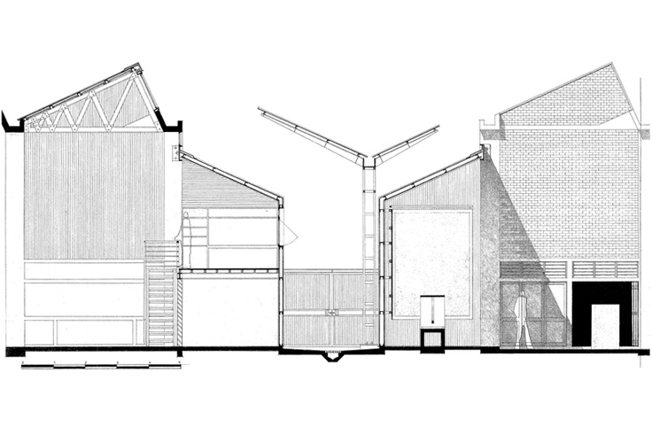 Red Location Cultural Precinct (competition entry drawings), New Brighton, Port Elizabeth - Noero Architects