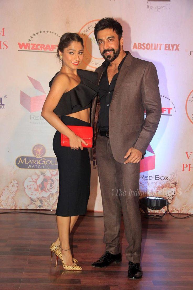 Ashish Choudhary and wife Samita at Vikram Phadnis's fashion show. #Bollywood #Fashion #Style #Beauty #Hot #Sexy