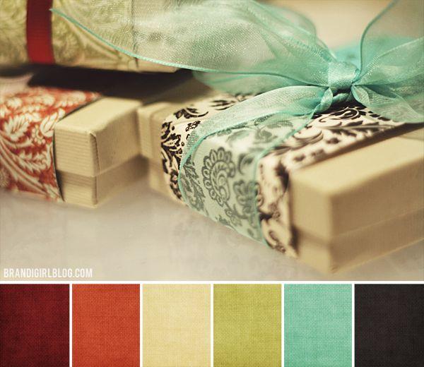 Yummy colour palette