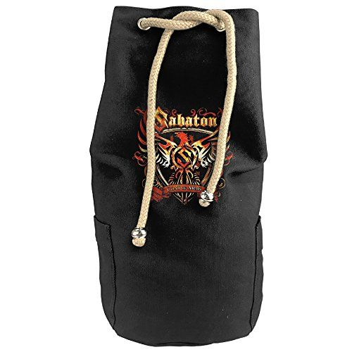 Bandy Sabaton Coat Of Arms Canvas Drawstring Backpack Bucket Bag *** Want additional info? Click on the image.