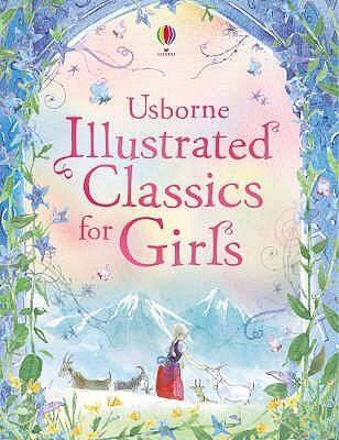 Una bellissimo libro illustrato che contiene storie amate dalle bambine. Contiene The railway children, Wizard of Oz, Little Women, The secret garden, Black Beauty and Heidi