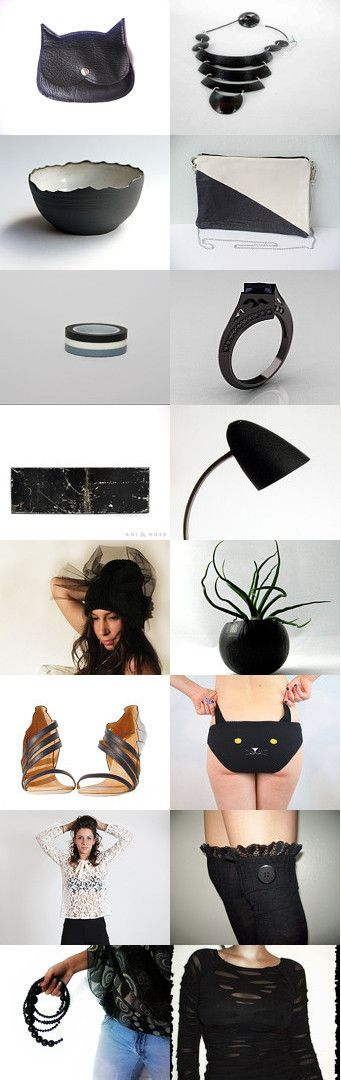 Black...meow by Ginger Zoo and Co. on Etsy--Pinned with TreasuryPin.com eit3000