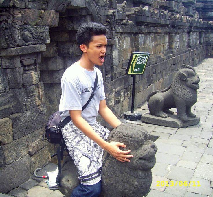 Beberapa aksi di Borobudur